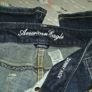 American Eagle Outfitters Pants - American Eagle Jeans With Sequin Pockets